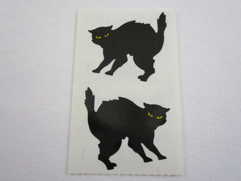 Mrs Grossman Scary Cat Sticker Sheet / Module - Vintage & Collectible 1987