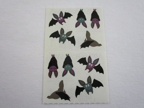 Mrs Grossman Bitty Bats Sticker Sheet / Module - Vintage & Collectible 2004