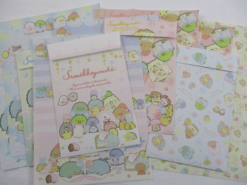 Copy of Cute Kawaii San-X Sumikko Gurashi Friends Home Party Letter Sets - Writing Paper Envelope Stationery Penpal