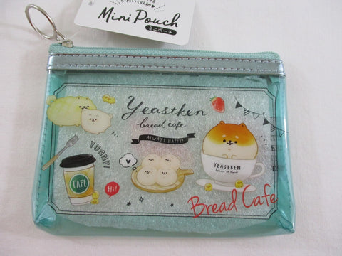 Cute Kawaii Kamio Bread Cafe Yeastken Small Zip Pouch Wallet - Bag Accessories