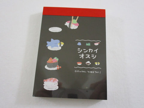 Cute Kawaii  Q-Lia Sushi Mini Notepad / Memo Pad - Stationery Designer Paper Collection