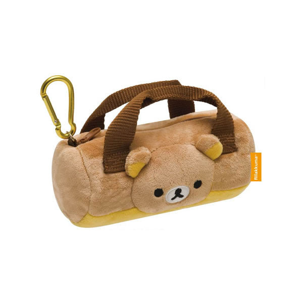 Cute Kawaii San-X Rilakkuma Bag Charm Coin Zip Pouch - Mini Handbag