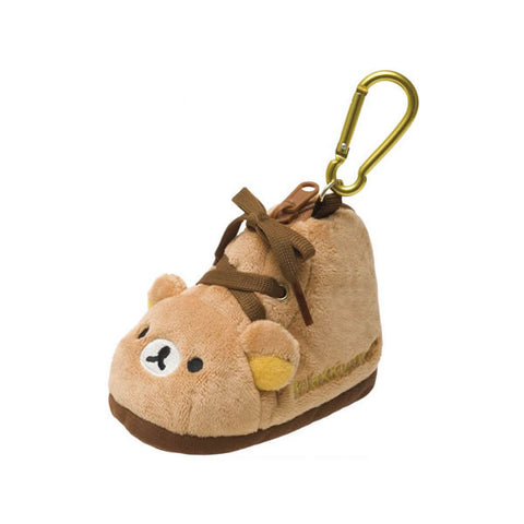 Cute Kawaii San-X Rilakkuma Bag Charm Coin Zip Pouch - Mini Shoe