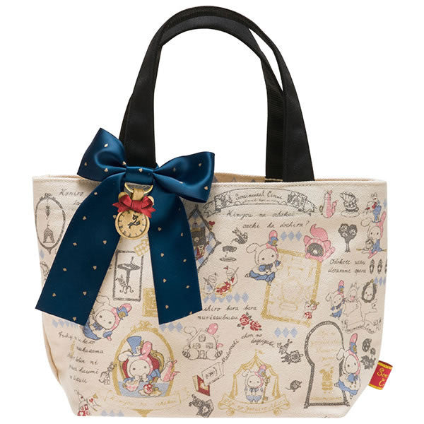 Cute Kawaii San-X Sentimental Circus Alice Canvas Tote