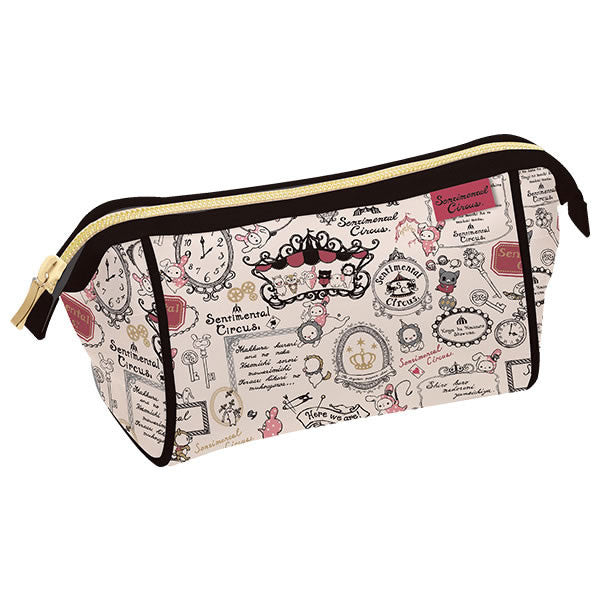Cute Kawaii San-X Sentimental Circus Makeup Cosmetic Pouch