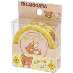 Cute Kawaii San-X Rilakkuma Washi / Masking Deco Tape - B - for Scrapbooking Journal Planner Craft