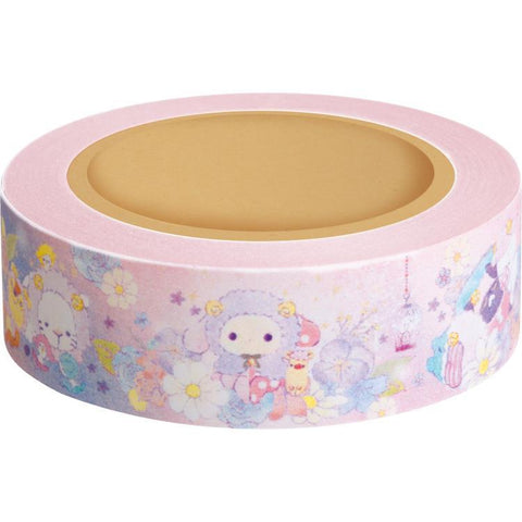 Cute Kawaii San-X Sentimental Circus Washi / Masking Deco Tape - A - for Scrapbooking Journal Planner Craft