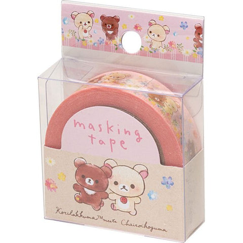 Cute Kawaii San-X Rilakkuma Washi / Masking Deco Tape - C - for Scrapbooking Journal Planner Craft