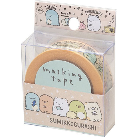 Cute Kawaii San-X Sumikko Gurashi Washi / Masking Deco Tape - A - for Scrapbooking Journal Planner Craft