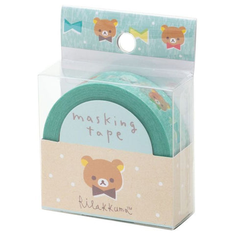 Cute Kawaii San-X Rilakkuma Washi / Masking Deco Tape - G - for Scrapbooking Journal Planner Craft