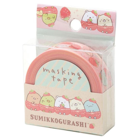Cute Kawaii San-X Sumikko Gurashi Washi / Masking Deco Tape - E - for Scrapbooking Journal Planner Craft