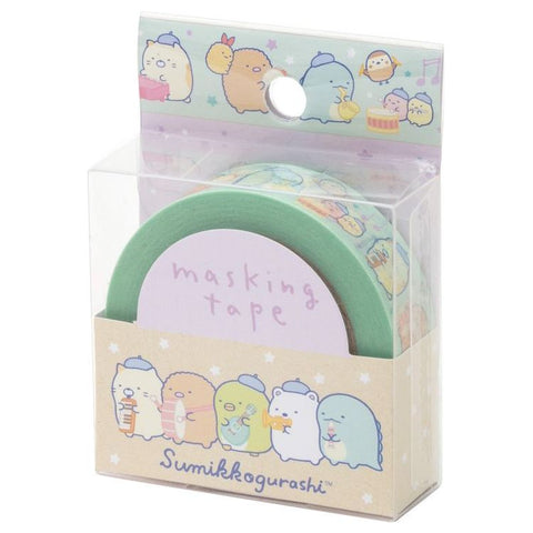 Cute Kawaii San-X Sumikko Gurashi Washi / Masking Deco Tape - F - for Scrapbooking Journal Planner Craft