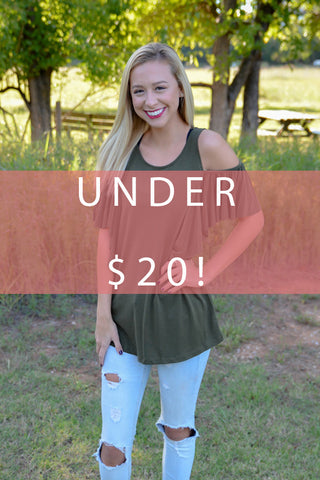 Items under $20!
