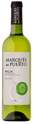 2018 Rioja Blanco Marques del Puerto Spain White