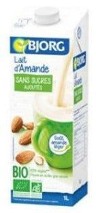 Almond Milk Organic No Added Sugar Bjorg