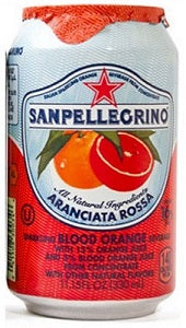 Blood Orange Juice Aranciata Rossa San Pellegrino Sparkling Italy