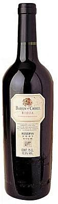 2014 Baron de Chirel Reserva Marques de Riscal Rioja Spain Red