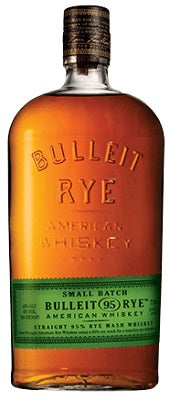 Bulleit Rye Frontier Bourbon Whiskey  Kentucky USA