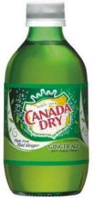 Canada Dry Ginger Ale Bottle