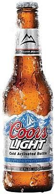 Coors Light Beer Golden Colorado USA