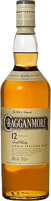 Cragganmore 12 Year Old Single Speyside Malt Scotch Whisky - Scotland