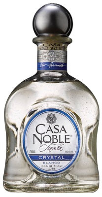 Crystal Blanco Tequila Casa Noble Mexico