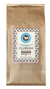 Decaf Colombiano Medium Fresh Roasted in St Barths
