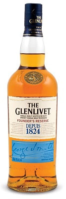 Glenlivet 12 Yrs Founder's Reserve Single Malt Scotch Whisky Scotland