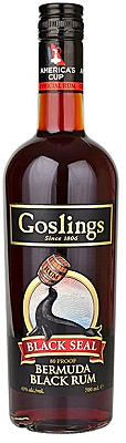 Goslings Black Seal Rum Bermuda