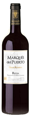 2010 Gran Reserva Marques del Puerto Rioja Spain Red