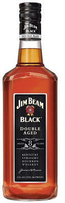 Jim Beam Black Double Aged Bourbon 8 yrs Whiskey Kentucky USA