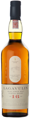 Lagavulin 16 Year Old Single Islay Malt Scotch Whisky - Scotland
