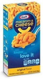 Macaroni and Cheese Kraft