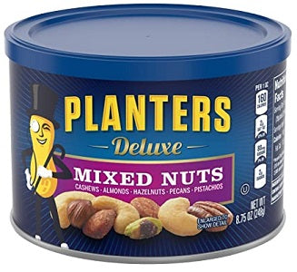 Mixed Nuts Planters Deluxe