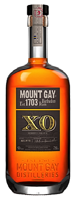 Mount Gay XO Extra Old 15 Years Old Rum Barbados