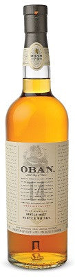 Oban 14 Year Old Single Malt Scotch Whisky - Scotland
