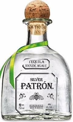 Patron Silver Tequila Mexico