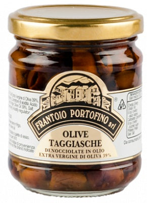 Portofino Olives Pitted Taggiasca
