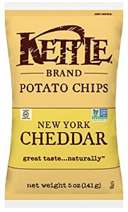 Potato Chips Kettle New York Cheddar
