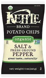 Potato Chips Kettle Salt-Pepper Organic