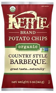 Potato Chips Kettle Barbeque Organic