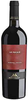 Sangiovese Le Focaie Rocca di Montemassi 2016 Tuscany Italy Red
