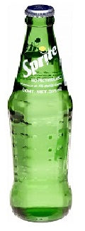Sprite Lemon-Lime Bottle Glass 240ml
