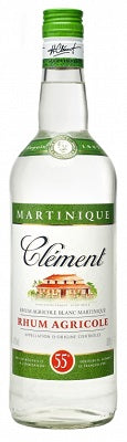 White Rhum Clement Agricultural Martinique