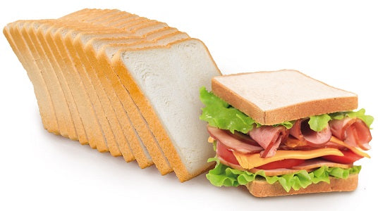 White Sliced Sandwich Bread