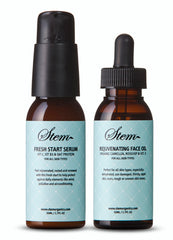 Fresh Start Serum and Rejuvenating Face Oil