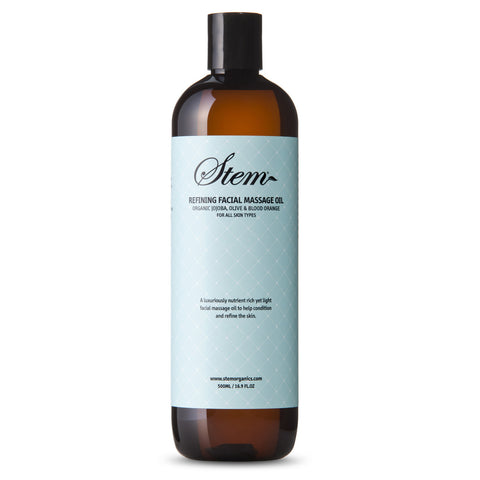 Refining Facial Massage Oil