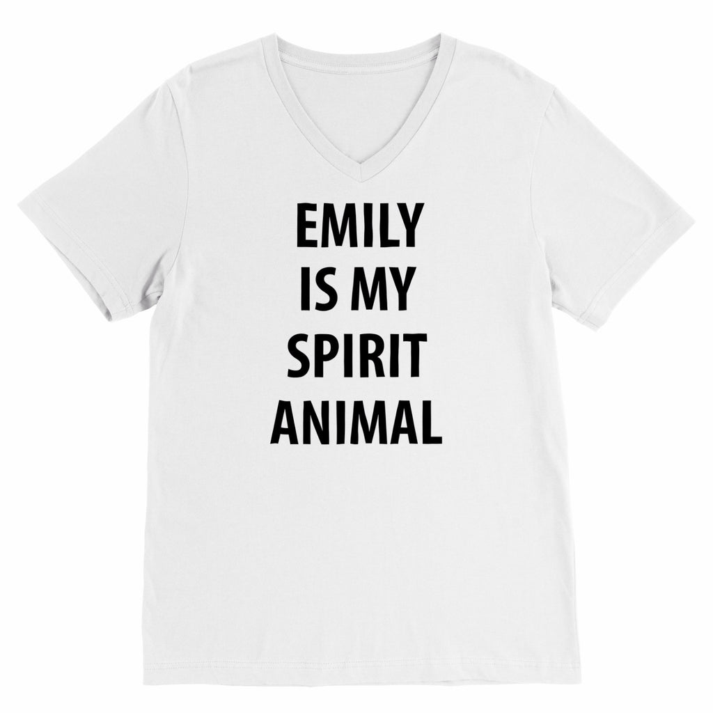 Spirit Animal // Girls of Gilmore {Black Lettered V-Neck} Tee