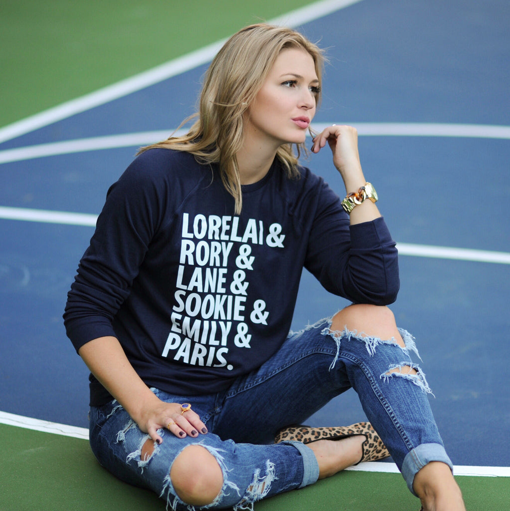 {NAVY} Layering Sweater - Choose Your Design