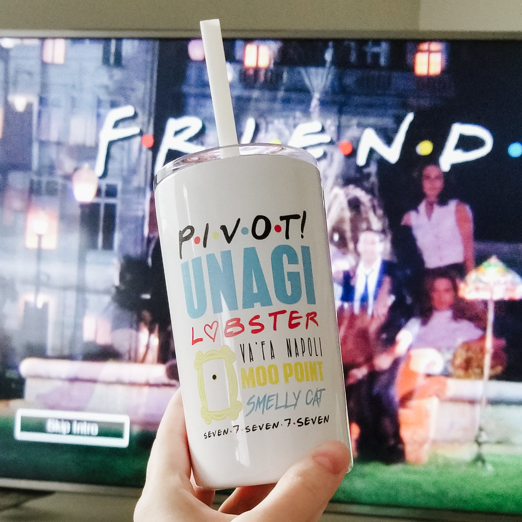 Friends Themes | Skinny Mini Tumbler - 12oz